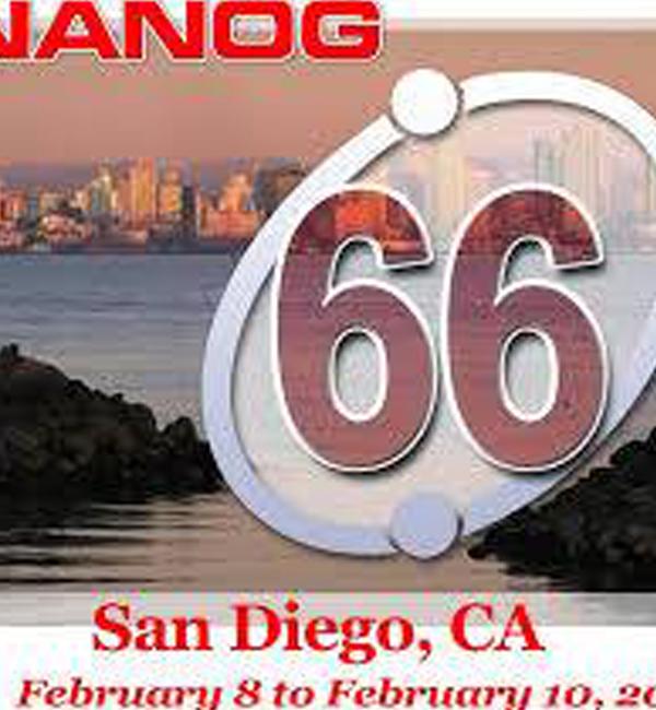 Региональная конференция NANOG 66. Хакатон CAIDA по BGP и семинар CAIDA по активным интернет — измерениям AIMS-2016. Сан Диего, США
