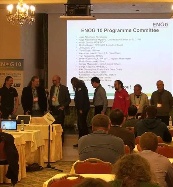 Региональная конференция ENOG 10/ RIPE NCC. Одесса, Украина