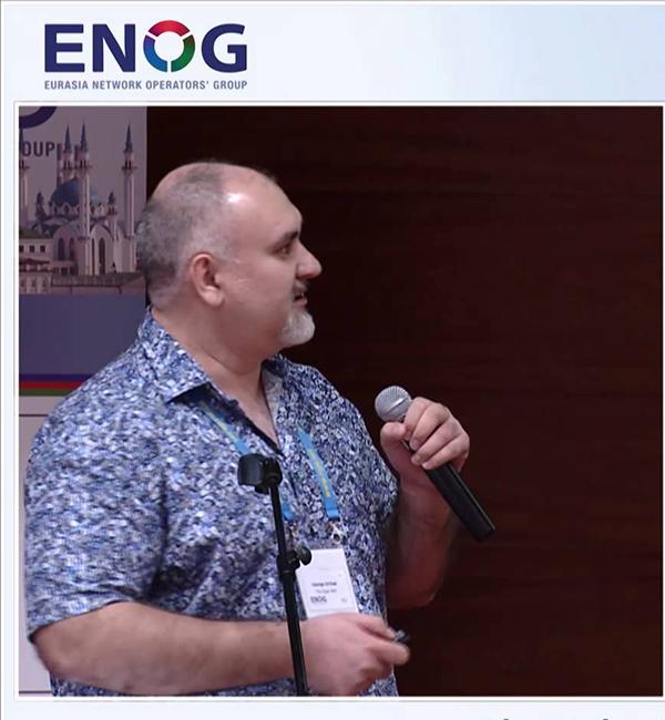 Региональная конференция ENOG 9 / RIPE NCC. Казань